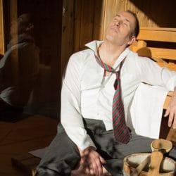 carsten in sauna